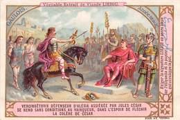 Chromo LIEBIG - GAULOIS - Vercingétorix Défenseur D'Alésio Assiégée Par Jules César - Liebig