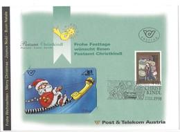 21212 - Christkindl 1998 Postamt Christkindl Austria Père Noël - Noel