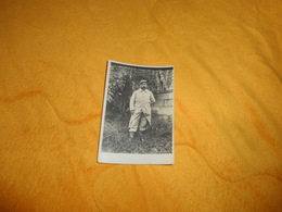 PHOTO ANCIENNE DATE ?. / MILITAIRE A IDENTIFIER COL CHIFFRE 12... - Guerre, Militaire