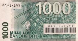 Lebanon 1.000 Livres, P-84a (2004) - UNC - Libanon