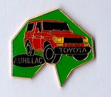PIN S DEPARTEMENT CANTAL 4X4 TOYOTA AURILLAC - Toyota