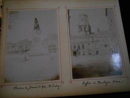 Lot De 6 Photos Originales En 1896 Ile De Jersey (2) Mont St Michel (2)  Mére Poulard Le Crotoy Boulogne Sur Mer KX - Anciennes (Av. 1900)