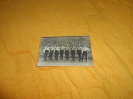 CARTE POSTALE PHOTO ANCIENNE NON CIRCULEE DATE ?.../ REGIMENT A IDENTIFIER MILITAIRES ?... - Regiments