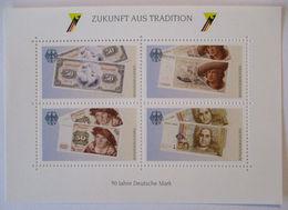 Geld, 50 Jahre DM, Xx Vignettenblock  - BRD