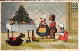 Thematiques Voeux Joyeux Noël Fröhliche Weihnachten Cachet Au Dos A Vergib Nicht Srabe Und Hausnommer A Zugeben - Other