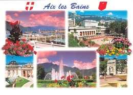 CP Aix Les Bains Multivues - écrite 10x15 - Aix Les Bains