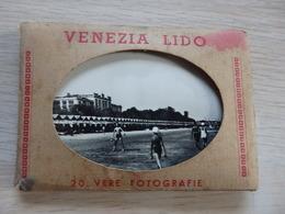 Venezia Lido - Carnet 20 Photos / Libretto Di 20 Foto - Série 135 - Format: 9.5 X 7 Cms - Voir 4 Scans - Venezia (Venice)