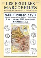 Bulletin Les Feuilles Marcophiles N° 312, 313, 314 Et 315 Et Suppléments Au 313 Et 314(2) Année 2003 Soit 7 Numéros - Guides & Manuels