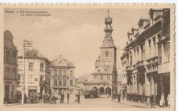Tielt - Thielt - De Gemeenteplaats - La Place Communale - Uitg. Descout-Sabbé - Tielt