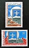 JAMBOREE MONDIAL D'IDAHO 1967 - NEUFS ** - YT 232/33 - MI 313/14 - Mauritanie (1960-...)