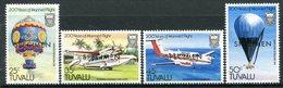 Tuvalu 1983 Bicentenary Of Manned Flight - SPECIMEN - Set MNH (SG 225-228) - Tuvalu