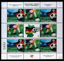Soccer World Cup 2006 - SERBIJA - Sheet MNH - World Cup