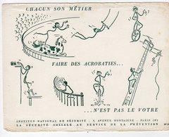 Dec18     83446     Buvard    Institut National De Sécurité  N° 53 - Piles