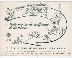 Dec18     83444     Buvard    Institut National De Sécurité  N° 52 - Piles