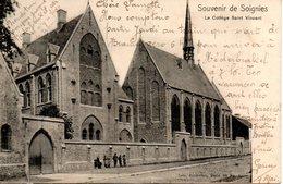 Belgique. Soignies. Le Collège Saint Vincent - Soignies