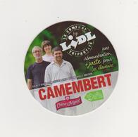 ETIQUETTE DE CAMEMBERT CHENE D ARGENT/LIDL - Kaas