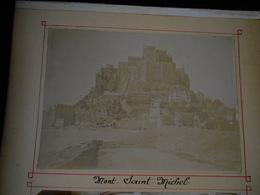 Lot De 4 Photos Originales En 1896 Mont St Michel Le Crotoy Eglise Saint Pierre Calais KX - Anciennes (Av. 1900)