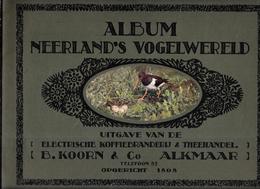 AY29 - PRENTJES ALBUM KROON - NEDERLANS VOGELWERELD - Sammelbilderalben & Katalogue