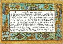 V3408 Ain Karem - Santuario Della Visitazione - Il Magnificat - Mosaico Mosaique Mosaic / Non Viaggiata - Israel