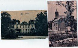 Cambron Casteau - 1925 - 2 Cartes - Soignies