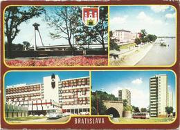V3410 Bratislava - Dunajske Nabrezie - Interhotel - Tunel Na Nabrezi - Bus Autobus / Non Viaggiata - Slovacchia