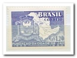 Brazilië 1953, Postfris MNH, Map Of Jau And Wapon - Brazilië