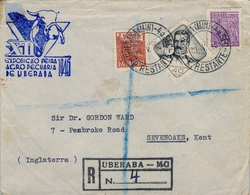 1946 , BRASIL , CERTIFICADO UREBARA - KENT , XII EXPOSICIÓN FERIA AGROPECUARIA DE UREBARA - Brasil