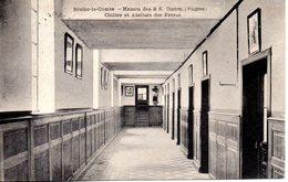 Belgique. Braine Le Comte. Maison Des S.S Coeur (picpus). Cloitre Et Ateliers Des Freres - Braine-le-Comte