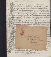 Guerre 39 45 Chantiers Jeunesse Groupement 32 Jacques Cœur A Vaillans Cuers Rien Immpossible FM Non Oblitérée Lettre - Marcophilie (Lettres)