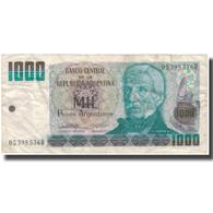 Billet, Argentine, 1000 Pesos Argentinos, Undated (1983-85), KM:317a, TB - Argentine