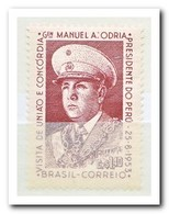 Brazilië 1953, Postfris MNH, Visit Of President General Manuel A. Odria Of Peru - Brazilië