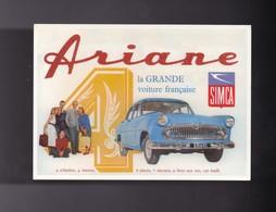 Automobile , ARIANE SIMCA - Voitures De Tourisme