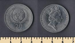 Australia 20 Cents 1995 - Australie