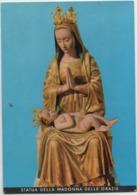 Arco (Trento): Santuario Di Santa Maria Delle Grazie, Frati Francescani. Statua Della Madonna. Viaggiata 1973 - Vergine Maria E Madonne