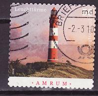 Allemagne Fédérale - Germany - Deutschland 2008 Y&T N°2505 - Michel N°2683 (o) - 55c Phare D'Arum - Autoadhésif - Gebruikt