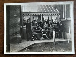 Oude Foto  Bij '  HOF   VAN  HERCK   LEUVEN 1931 - Personnes Identifiées