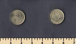 Peru 10 Centavos 1975 - Pérou