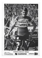 CARTE CYCLISME HERMAN VAN DER SLAGMOLEN TEAM CARPENTER SHIMANO 1973 - Cyclisme