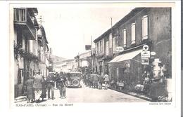 D 09 MAS D'AZIL  Rue De Moure Station Essence - Autres Communes