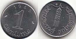 Francia 1 Centime 1965 KM#928 - Used - Francia
