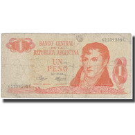 Billet, Argentine, 1 Peso, Undated ( 1970-73), KM:287, TB - Argentine
