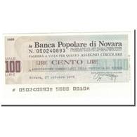 Billet, Italie, 100 Lire, 1976, 1976-10-27, SUP - [10] Chèques