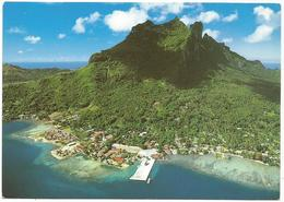 V3414 Polynesie Francaise - Bora Bora - Le Village De Vaitape - Vue Aerienne / Non Viaggiata - Polinesia Francese
