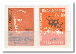 Brazilië 1953, Postfris MNH, Zacarisa De Gois E Vasconcellos, Workers Carry Coffee Bags - Brazilië