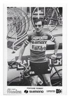 CARTE CYCLISME ROBERT FONTAINE TEAM CARPENTER SHIMANO 1973 - Cyclisme