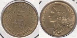 Francia 5 Centimes 1966 KM#933 - Used - Francia