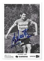 CARTE CYCLISME LUDO DELCROIX TEAM CARPENTER SHIMANO 1973 - Cyclisme