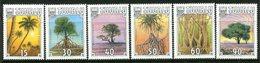 Tuvalu 1990 Tropical Trees Set MNH (SG 568-573) - Tuvalu