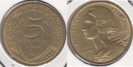 Francia 5 Centimes 1971 KM#933 - Used - C. 5 Centesimi