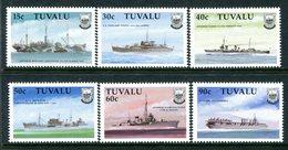 Tuvalu 1990 Second World War Ships - 1st Issue - Set MNH (SG 578-583) - Tuvalu